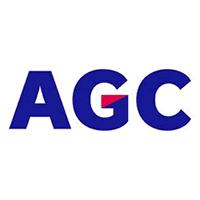 logo AGC Hradec Králové a.s., člen AGC Group