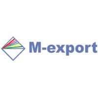 logo M - export, s.r.o.