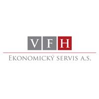 logo V.F.H EKONOMICKÝ SERVIS a.s.